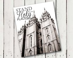 "A Pocket full of LDS prints: 2013 Mutual Theme, ""Stand Ye in Holy Places"" (D 87:8)"