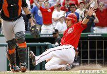 Wilson Ramos, baseball guió triunfo de los Nacionales sobre los Marlins 4/20/12)