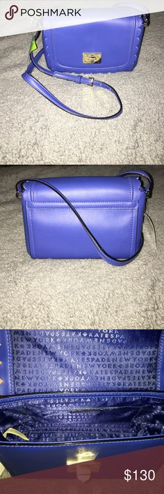 Kate Spade Zani crossbody Brand new Kate Spade crossbody. Hyacinth is the color. New with tags. 8 x 6 x 3.5. kate spade Bags Crossbody Bags