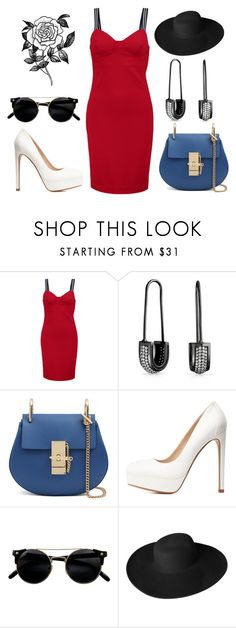 """Untitled #479"" by scarlet-fltcher ❤ liked on Polyvore featuring Love Moschino, Bling Jewelry, Charlotte Russe, Dorfman Pacific and Forever 21"