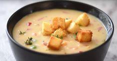 Crème de poulet maison Top Recipes, Cheeseburger Chowder, Cantaloupe, 20 Minutes, Fruit, Food, Mets, Restaurant, Shower
