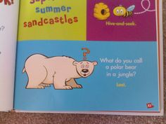 What do you call a polar bear in the jungle?
