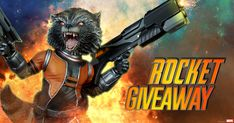 Sideshow January 2018 Newsletter Members Rocket Raccoon Statue Giveaway