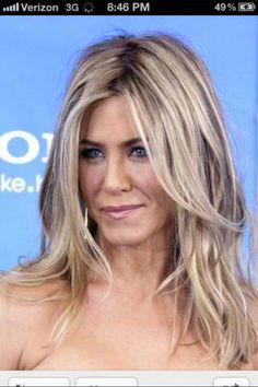 Love this bling bling blonde