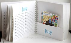 card-organizer by krafting kelly  *Definitely going to make myself one of these!*