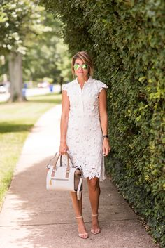 Nina Griscom for GiGi New York | Mini Lily Tote | Seersucker + Saddles Fashion Blog