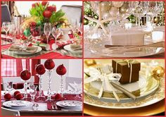 pinterest table decorations christmas | Table ideas