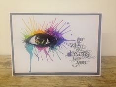 Visible Image stamps - Inky Eye Stamp - Mark Alexander