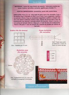 bordure au crochet papillons 2