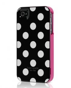Kate Spade Phone case - I just bought this...couldn't resist.