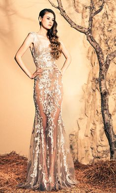Ziad Nakad Haute Couture - Fall/Winter 2015 Collection @Maysociety