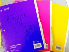 The Curly Classroom: I {Heart} Notebooks 2.0 Interactive notebooks in high school English