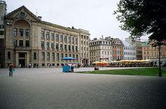 Vecriga square - Riga, Latvia