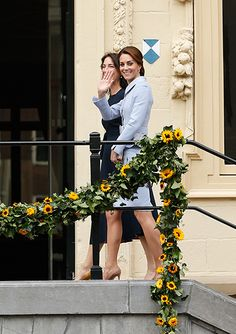 Duchess Kate looked elegant in a Catherine Walker outfit