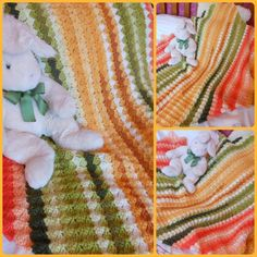 Crochet baby blanket Blankets & throws throw by Justbabydelights