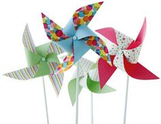Amazon.com: Martha Stewart Crafts Modern Festive Pinwheel Kit