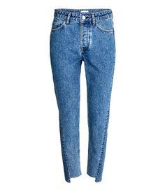 Straight High Jeans | Denim blue | Ladies | H&M US