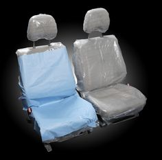 Try our great Front Bucket Seat Covers.  A variety of reusable disposables and a patent pending option of a fabric seat cover with an attachable disposable so you can use it only when you want! Bucket Seat Covers, Patent Pending, Dogs And Kids, Chair, Fabric, Recliner, Tejido, Chairs, Fabrics