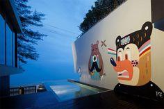 Bear House in Thailand