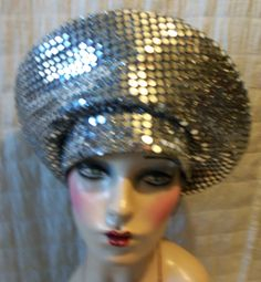 Vintage Hat 80s Church Mirror Mirror on the by RunoftheMillinery, $45.00