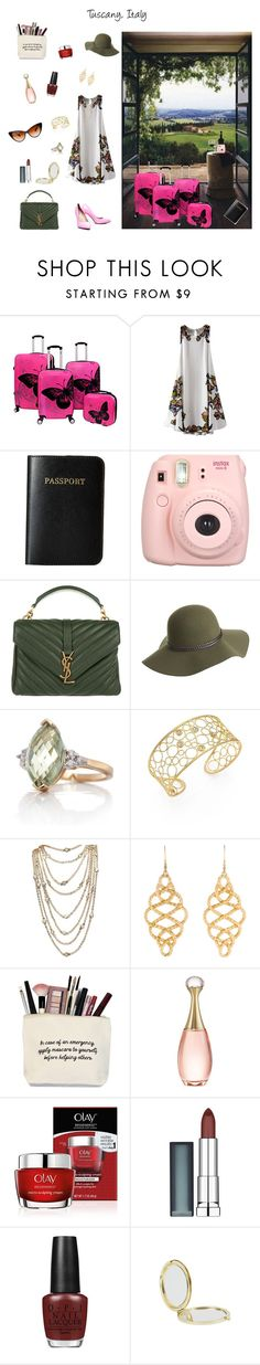 """""""Lovely Luggage"""" by rboowybe ❤ liked on Polyvore featuring Chicnova Fashion, Vera Bradley, Fujifilm, Yves Saint Laurent, Overland Sheepskin Co., Belk & Co., Roberto Coin, Palm Beach Jewelry, John Hardy and Christian Dior"""