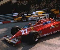 Gilles Villeneuve - Ferrari - Monte Carlo, Monaco Grand Prix - 1981