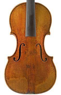 "1730c  Guarneri Del Gesu violin  ""Kreisler"" from Library of Congress Collection"