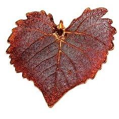 Cottonwood Leaf & Pendant