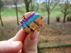 Martinuska / Cork ring Handmade Rings, Druzy Ring, Cork, Jewelry, Jewlery, Bijoux, Schmuck, Jewerly, Corks