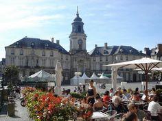 Ah Rennes, France. Tu me manques, mon amour.