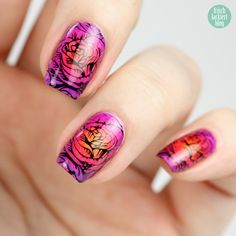 Frisch lackiert - P2 Gloss Goes Neon Gradient Stamping
