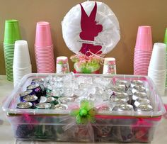 Photo 1 of 42: Fantasy Tinkerbell / Baby Shower/Sip & See Celebration for Baby Madison | Catch My Party