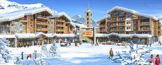 Kalinda Village, Tignes les Boisses    http://www.peakretreats.co.uk/ski/tignes-les-boisses/mgm-apartments/kalinda-village.htm