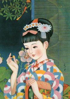 I'm sorry I don't know who deserves credit for this image Vintage Nippon, Japanese Artwork, Illustration Character Design, Drawing Illustrations, Japanese Illustration, Retro Art, Retro Illustration, Manga Illustration, Art