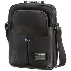 Buy Samsonite Cityvibe Tablet Crossbody Bag, Black Online at johnlewis.com