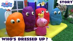 Peppa Pig Play Doh Egg Surprise Dressing Up Fairy Story Thomas and Frien... Peppa Pig does some dressing up today. What outfits does she try on. Some of her friends then arrive on Percy already completely covered in Play Doh. Can you guess who they are before they are all revealed. #playdoh #peppapig #peppa #playdough #playdoughactivities #dressingup #thomasandfriends #nickelodeon #toy #kids