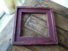 DIY build  your own Barnwood Frames - $1 and 10 minutes