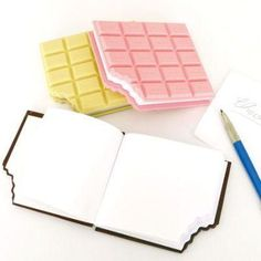 Mini Chocolate Notebook
