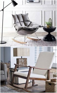 Mid-Century contemporary chairs are great decors suitable for any interior style. So let's take a look at all 11 possible types of accent chairs for living rooms. Leather Swivel Chair, Leather Chair With Ottoman, Chair And Ottoman, Small Living Rooms, Living Room Modern, Upholstered Swivel Chairs, Classic Living Room, Contemporary Chairs, Accent Chairs For Living Room