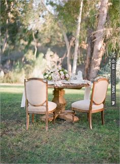 vintage furniture and decor from Archive Rentals | CHECK OUT MORE IDEAS AT WEDDINGPINS.NET | #wedding