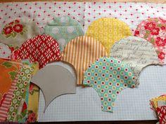 Poppy Makes...: Clamshells a Tutorial. Love this pattern! More than chevron!