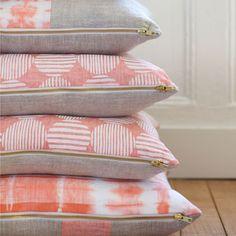 Rebecca Atwood handmade pillows