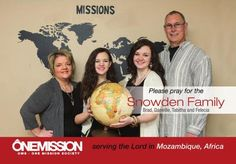 Snowden's Missionaries to Mozambique Feb. / March 2017 Quarterly Newsletter
