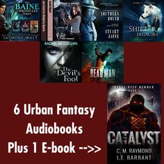 Urban Fantasy Audiobook Giveaway