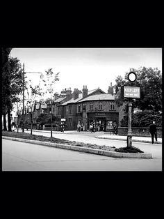 Bottom of Town Lane, Bebington, 1950s.