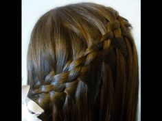 Day 14 - Waterfall Braid - HAIR BY LORI