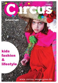 Circus mag pilot issue  #DIY #crafts #free  #magazine  #online #kids #fashion #recipes #revistas #cocina #niños #manualidades #decor #decoración