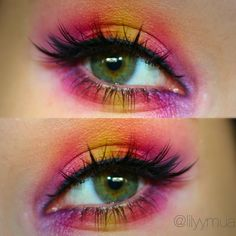 I loved using the urban decay Electric palette to create this eyeshadow look