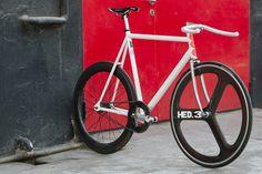 Beautiful Bicycle: MMCs Factory 5 Low Pro Track via PinP #bike #fixed