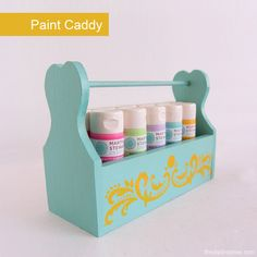 Martha Stewart Paint Caddy